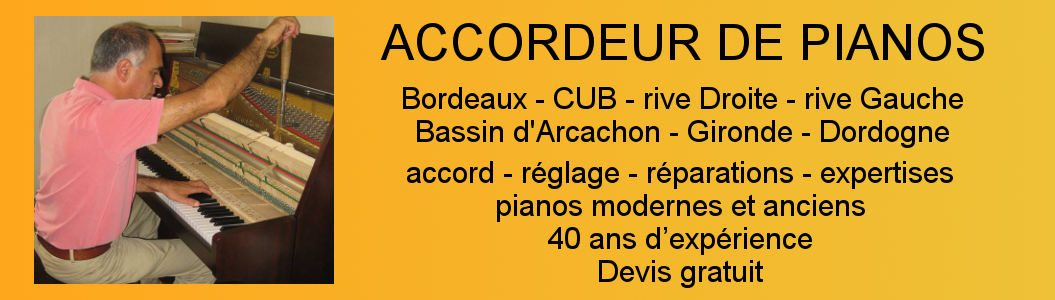 Jean-Michel Bloch – Accordeur de pianos